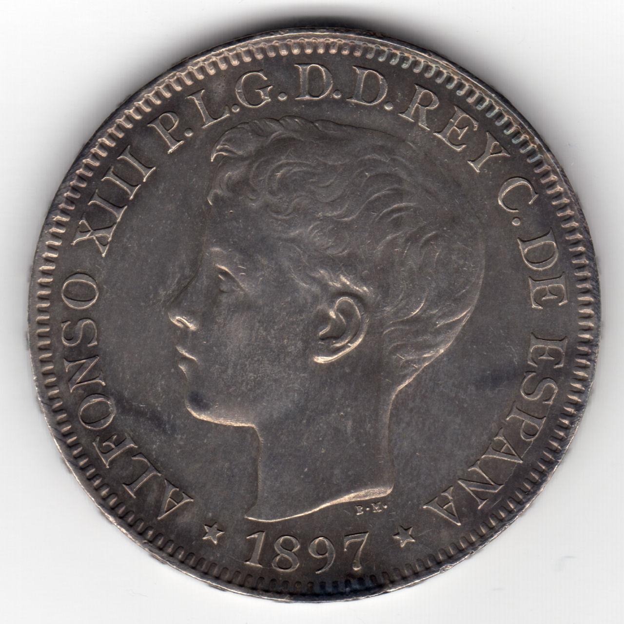 Pichori フィリピンの硬貨 1897...